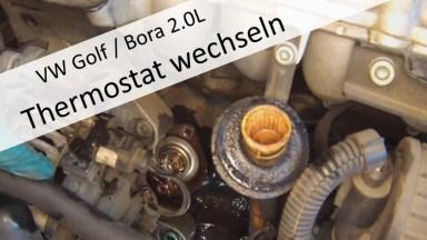 Volkwagen Bora Kühlmittel Thermostat