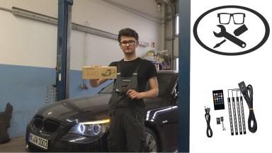 BMW 5er E60 Fußraumbeleuchtung