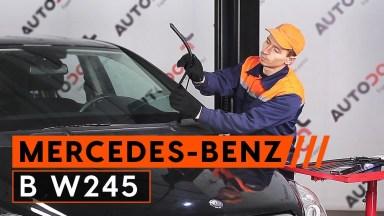 Mercedes B-Klasse W245 Scheibenwischer vorne