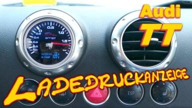 Audi TT 8N Ladedruckanzeige