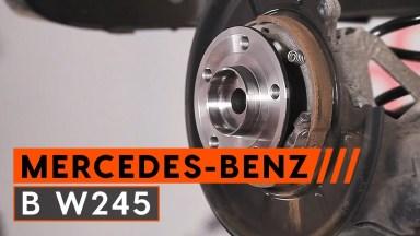 Mercedes-Benz B W245 Radlager hinten