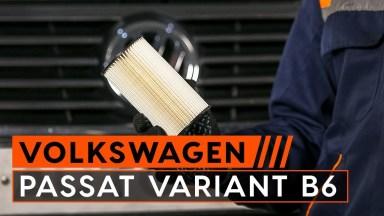 Volkswagen Passat B6 Motoröl und Ölfilter