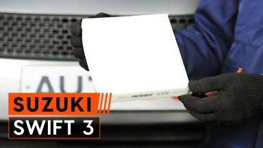 Suzuki Swift 3 Innenraumfilter