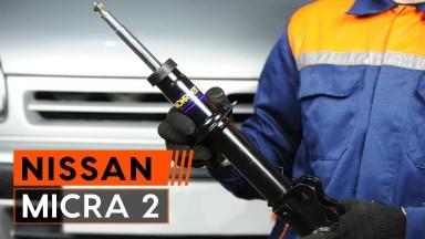 Nissan Micra Stoßdämpfer vorne