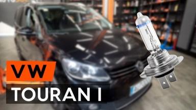 Volkswagen Touran Scheinwerferglühlampe
