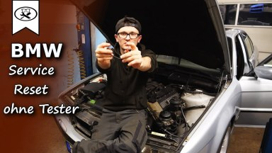 BMW 7 E38 Service zurücksetzen