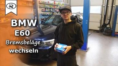 BMW 5 E60 Bremsbeläge hinten