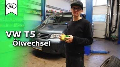 Volkswagen T5 Motoröl