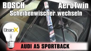 Audi A5 8TA Scheibenwischer