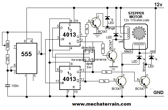 motor controller besides simple stepper motor controller further