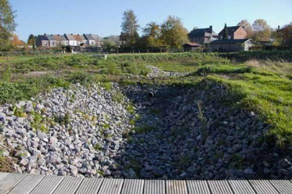 Bufferbekken Albertuswijk tegenover Bos van Betzenbroeck of Bos van Loos