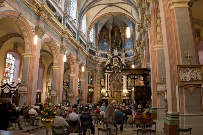 Gerestaureede Begijnhofkerk Mechelen