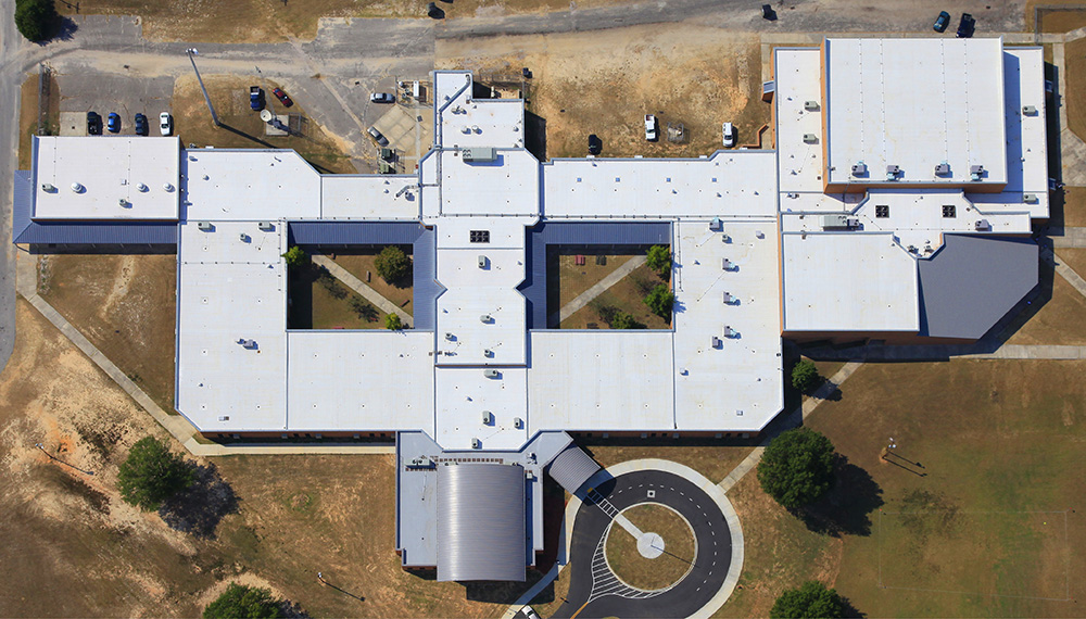 Calhoun Counthy High School Mecklenburg Roofing