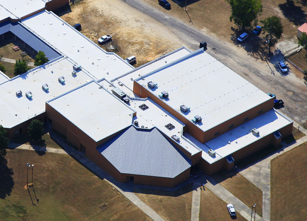 Calhoun County HS Roof Detail