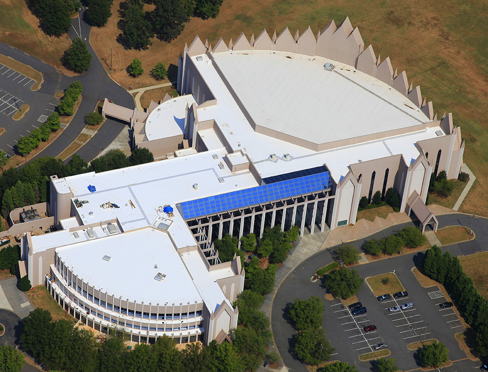 Calvary Church Mecklenburg Roofing