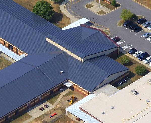 Lingerfeldt Elementary Roof Detail