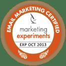 Marketing Experiments Professional Certification Program