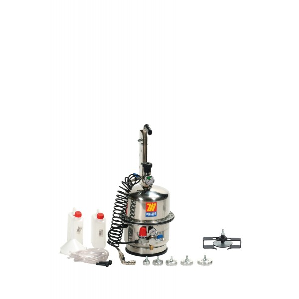 Stainless steel brake bleeder-clutches with three chambers