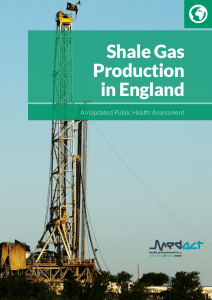 Cover - Shale Gas Production in England