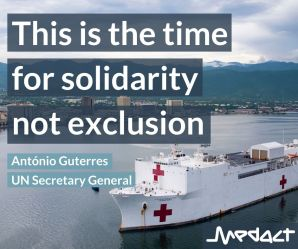 From exclusion to international solidarity ─ the public health case for lifting trade sanctions in the face of COVID-19
