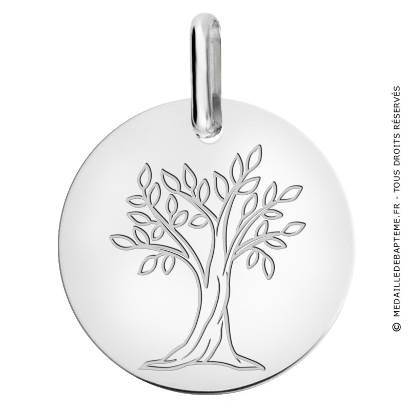 Mdaille Arbre De Vie Or Stunning Mdaille Or Et Nacre