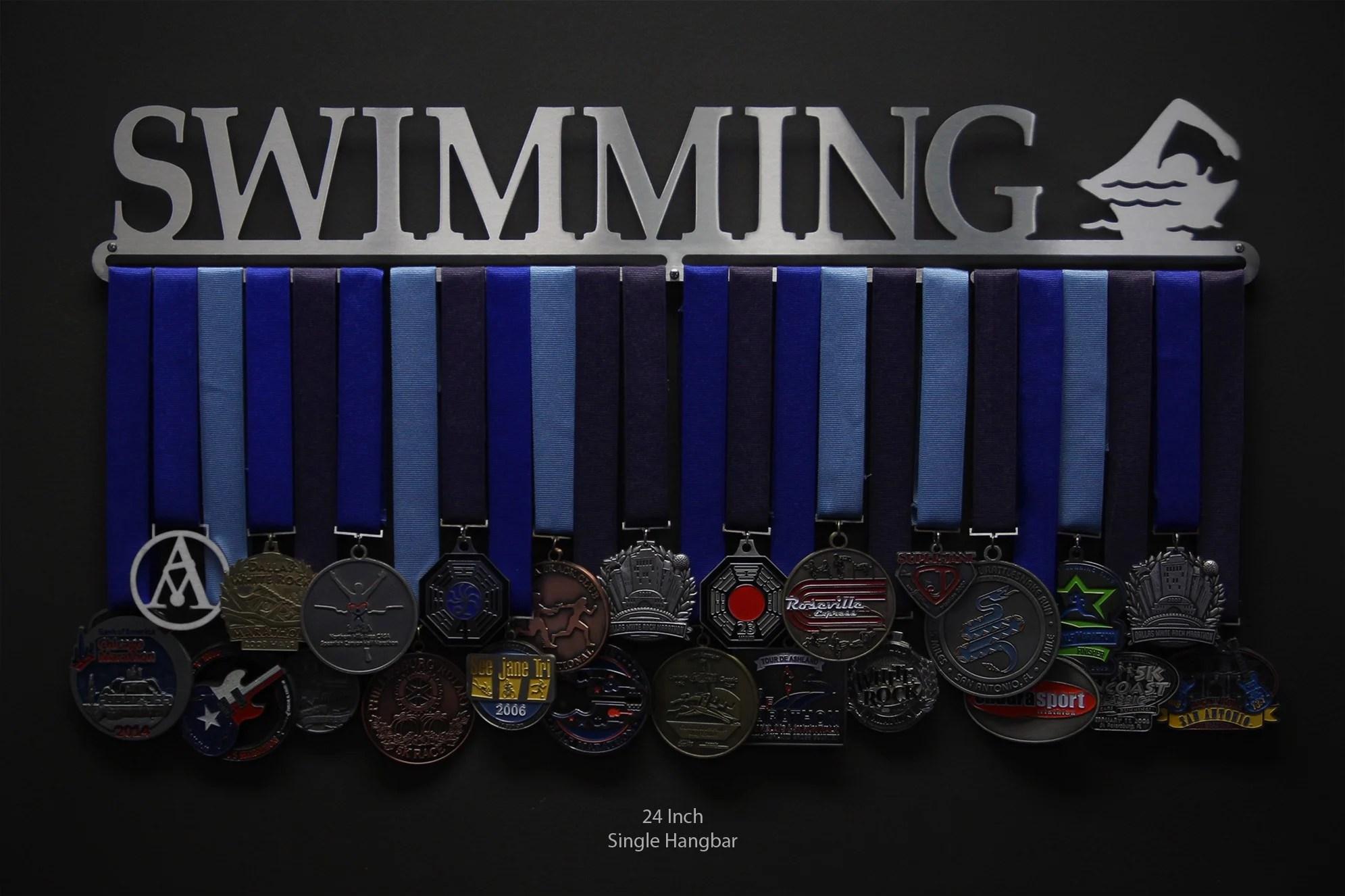 Swimming Sport Amp Running Medal Displays The Original