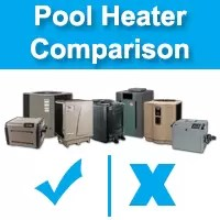 pool heat pump comparison | pool heater comparison | pool heating options | pool heating cost