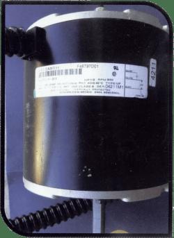 signature heat pump fan motor