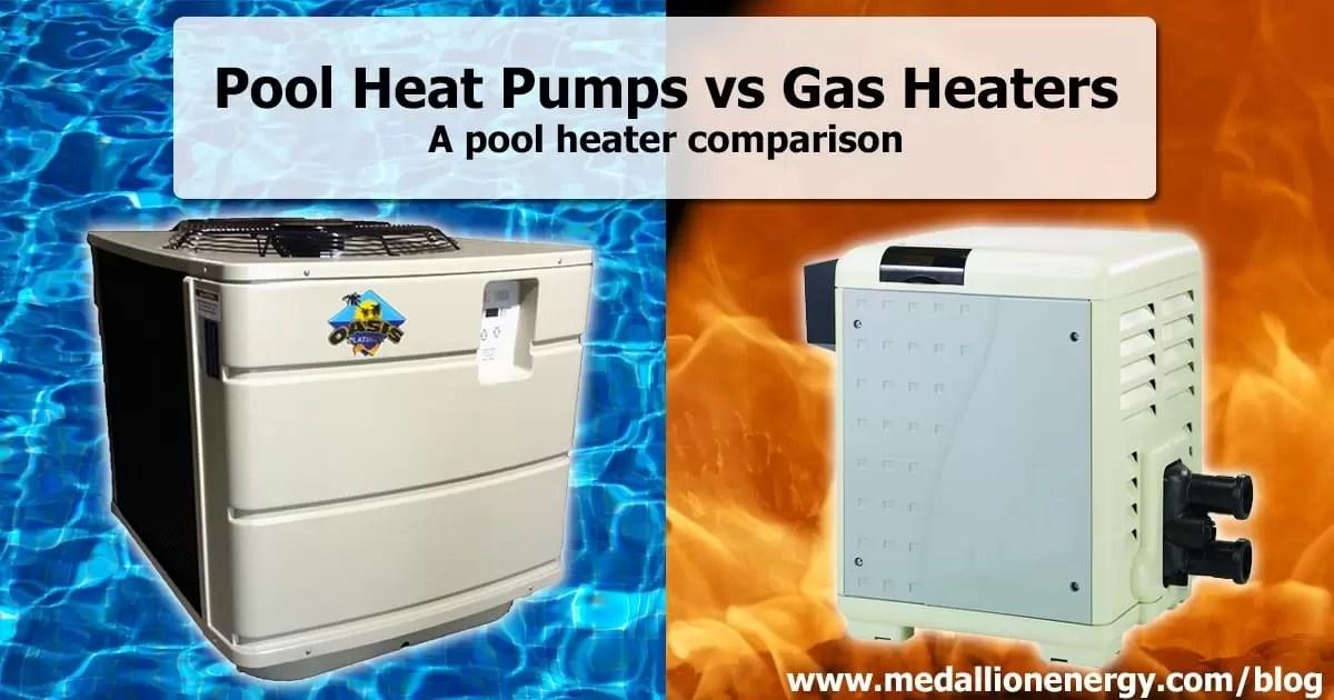 Pool Heat Pumps vs Gas Heaters