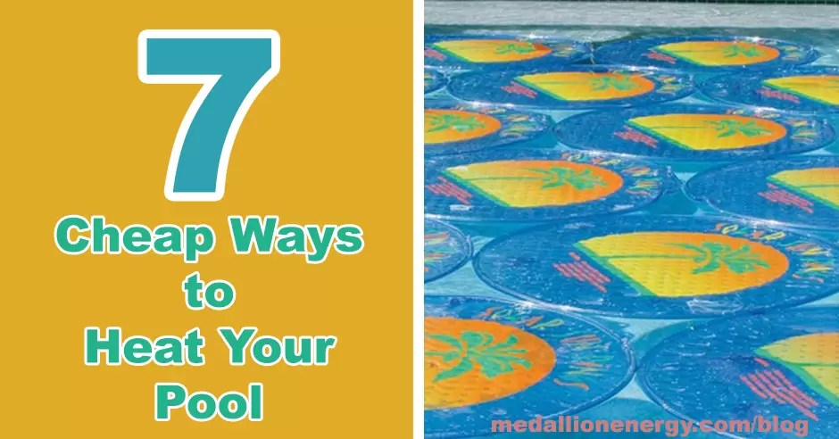 cheap ways to heat your pool how to heat a swimming pool for free heat inground pool