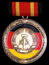 ODM of East Germany Medal of Merit of the German