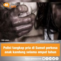 Polisi tangkap pria di Sumut perkosa anak kandung selama empat tahun