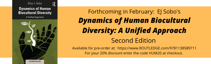 Book Announcement: 2nd Edition of Dynamics of Human Biocultural Diversity: A Unified Approach