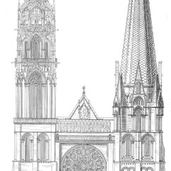 Diagram Of Gothic Church 2006 Ford Escape Alternator Wiring Medieval Chartres Plans And Drawings