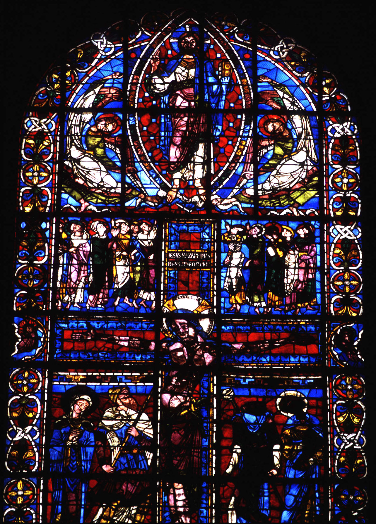 Medieval Poitiers Cathedral Of Saint Pierre