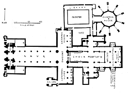 Medieval Lincoln Minster-Plans and Drawings