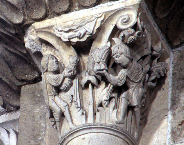 Medieval Art And Architecture Iconography Cain And Abel