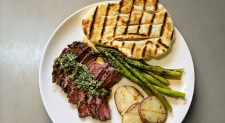 Chimichurri with Grilled Flatbreads