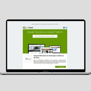 Unser Stellenanzeigen Boost mit Schaltung im Newsletter