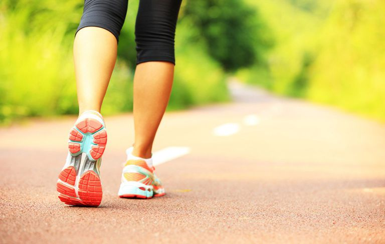 Brisk walking could also burn more calories