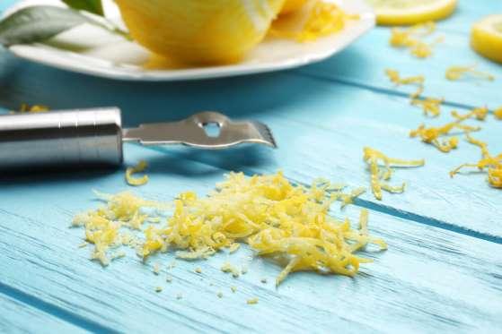 lemon/lime zest