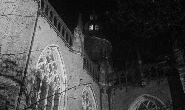 Walburg bij nacht