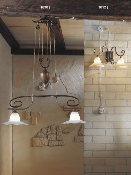 Beautiful Lampadari Country Cucina Contemporary  Home