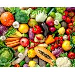 Je mange ni fruits, ni légumes