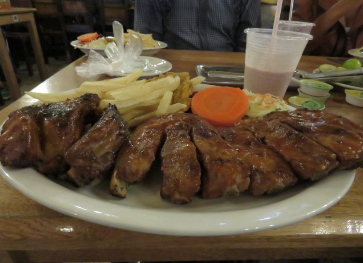 The BBQ ribs