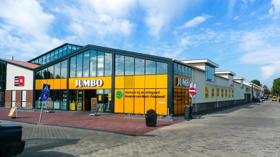 De Jumbo in Zwaagdijk-Oost