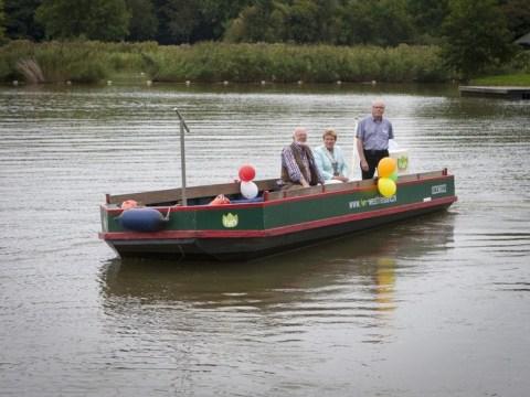Foto (f)luisterboot Wilskracht: Toos Brink