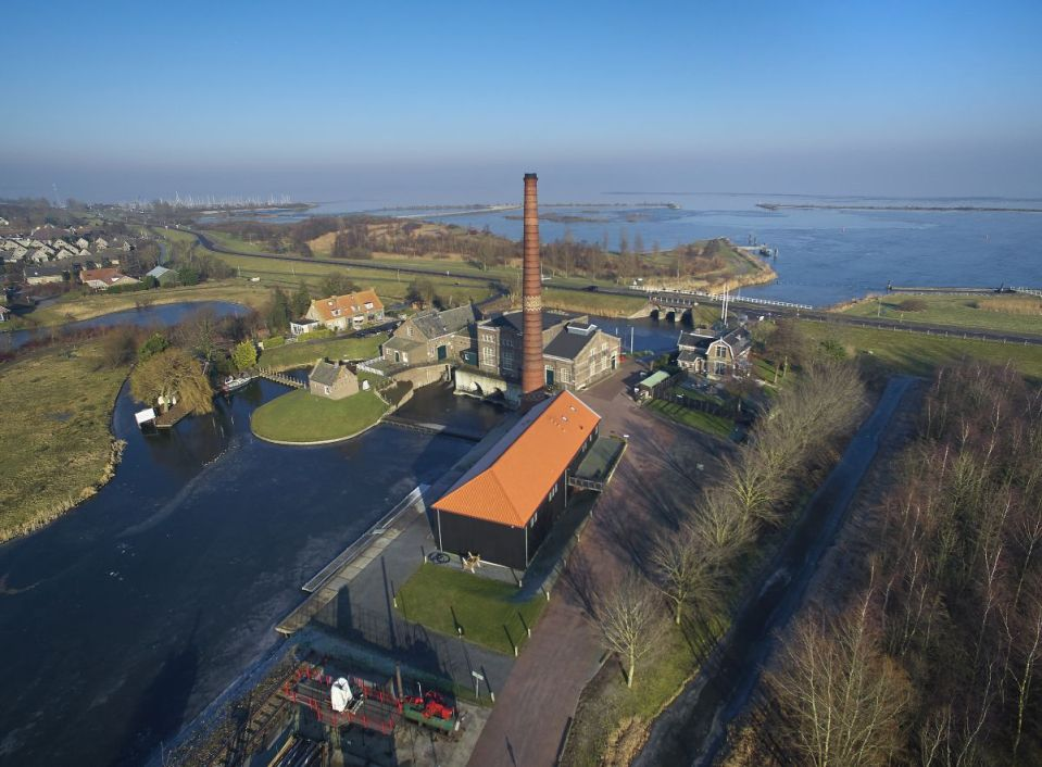Het Stoommachinemuseum in Medemblik (Foto: Hans Albers)