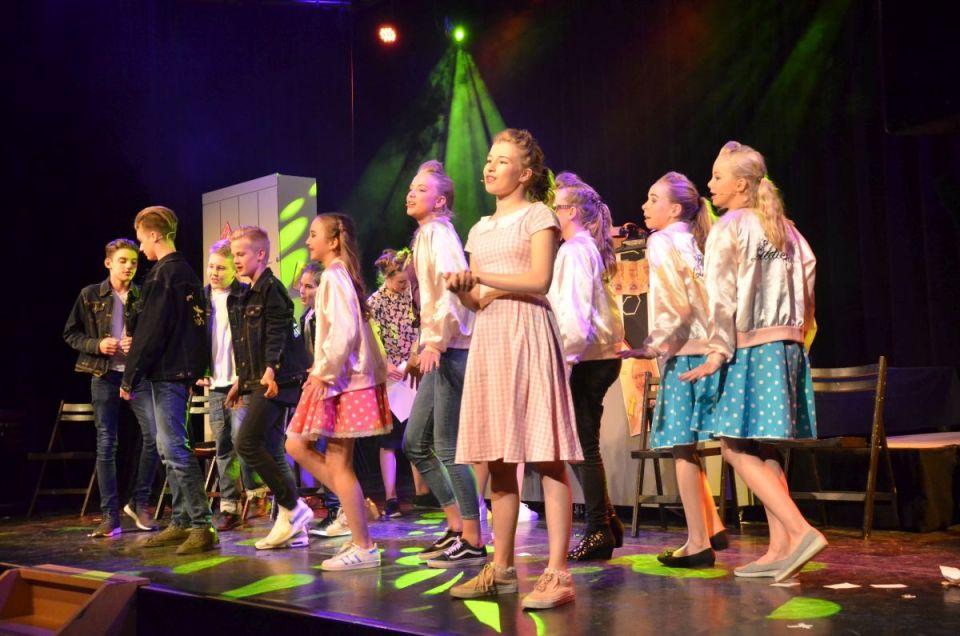 Grease de Musical uitgevoerd door leerlingen van De Dijk Medemblik (Foto aangeleverd)