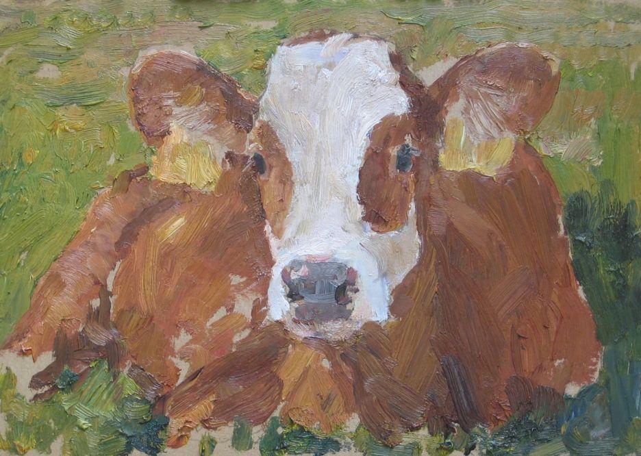 Workshop Koeienschilderen bij Mak-Blokweer